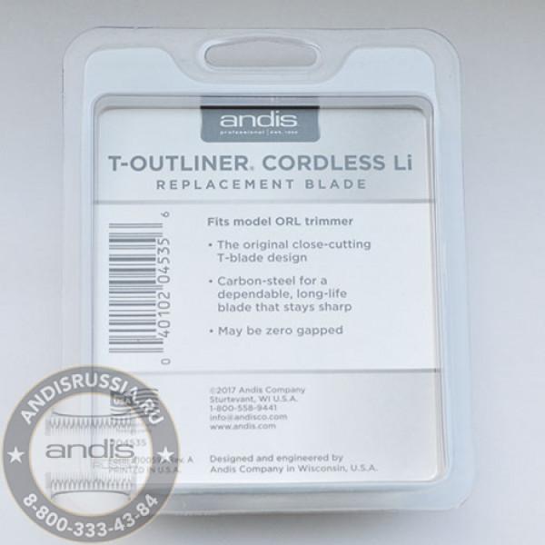 Ножевой блок Andis для машинки T-Outliner Li ORL 04535