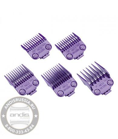Набор магнитных насадок Andis Master Dual Magnetic Comb Set Small 5 шт 01410