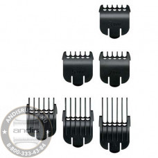 Набор насадок Andis Snap-On Blade 6-Comb Set 22710