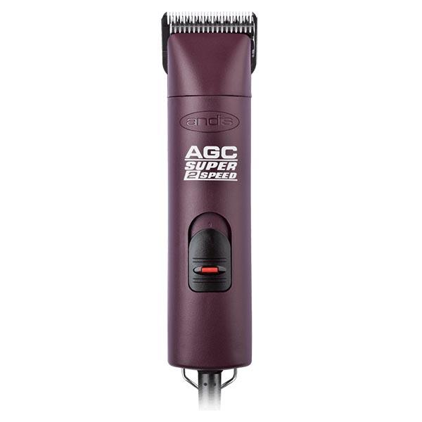 Cетевая машинка для стрижки животных Andis AGC2 Super 2 Speed Burgundy 23145