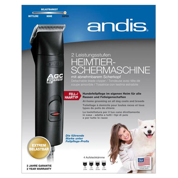 Сетевая машинка для стрижки животных Andis AGC2 Limited Черный 24435