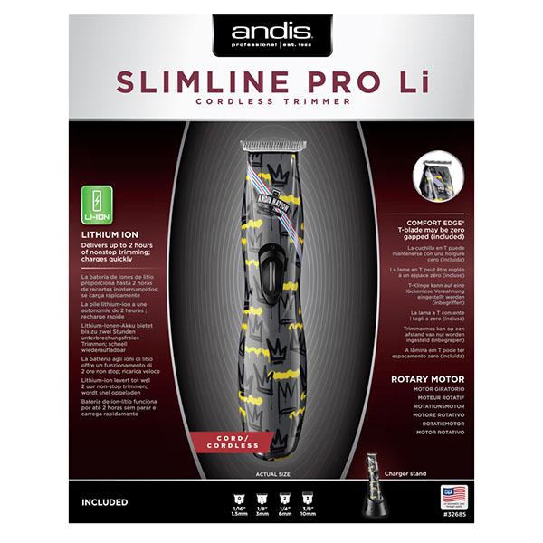 Профессиональный триммер для стрижки волос Andis D-8 Slimline Pro Li Nation 32685