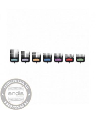 Набор насадок для животных Andis 7-Piece Animal Clip Comb Set 33655