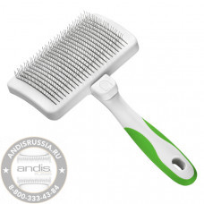 Пуходерка с кнопкой самоочистки Andis Self-Cleaning Slicker Brush 40160 / 40161