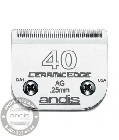 Ножевой блок керамический Andis CeramicEdge 40 0,25 мм 64350