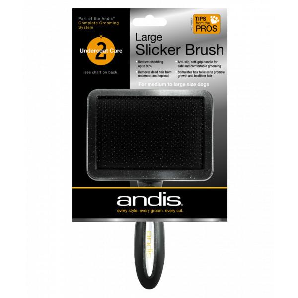 Пуходерка большая Andis Large Slicker Brush 65270