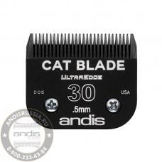 Ножевой блок Andis UltraEdge Cat для кошек 30 0,5 мм 65395