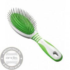 Щетка массажная профессиональная для животных Andis Pin Brush 65720