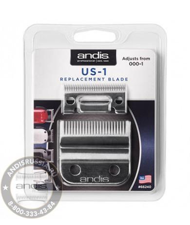 Ножевой блок плоский Andis US-1 Replacement Blade для машинок usPRO Li LCL, US-1 66240