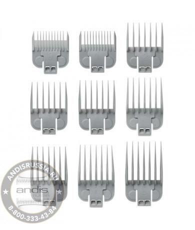 Набор насадок Andis Snap-On Blade 9-Comb Set 66350