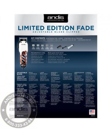 Сетевая машинка для стрижки Andis US-1 Fade in Barber Pole Design 66725