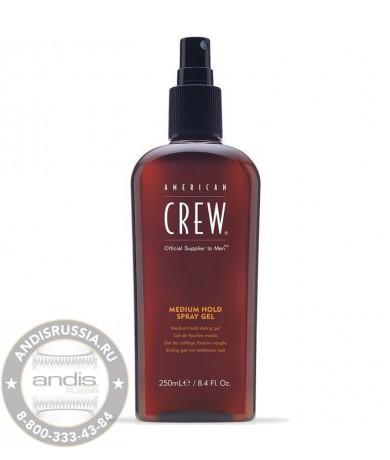 Спрей-гель для волос средней фиксации American Crew Classic Medium Hold Spray Gel 250 мл 7238835000