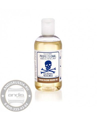 Масло для бороды The Bluebeards Revenge Cuban Blend 250 мл BBRBOCUBAN250