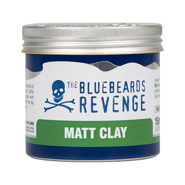 Матовая глина для укладки волос The Bluebeards Revenge Matt Clay 150 мл BBRCLAY150