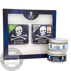 Подарочный набор Бальзам и Крем для бритья The Bluebeards Revenge BBRSCPOSTK