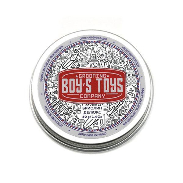 Бриолин для укладки волос сврех сильной фиксации со средним уровнем блеска Boy's Toys Deluxe 40 мл BT682