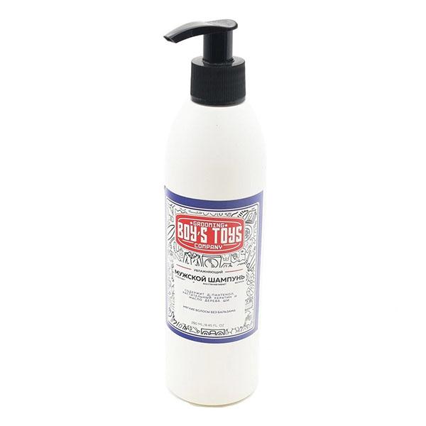 Шампунь увлажняющий для ежедневного ухода за нормальными и сухими волосами Boy's Toys 250 мл BT804
