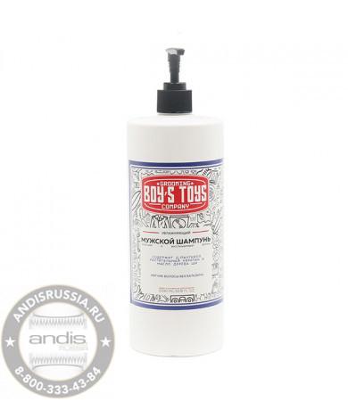 Шампунь увлажняющий для ежедневного ухода за нормальными и сухими волосами Boy's Toys 1000 мл BT811