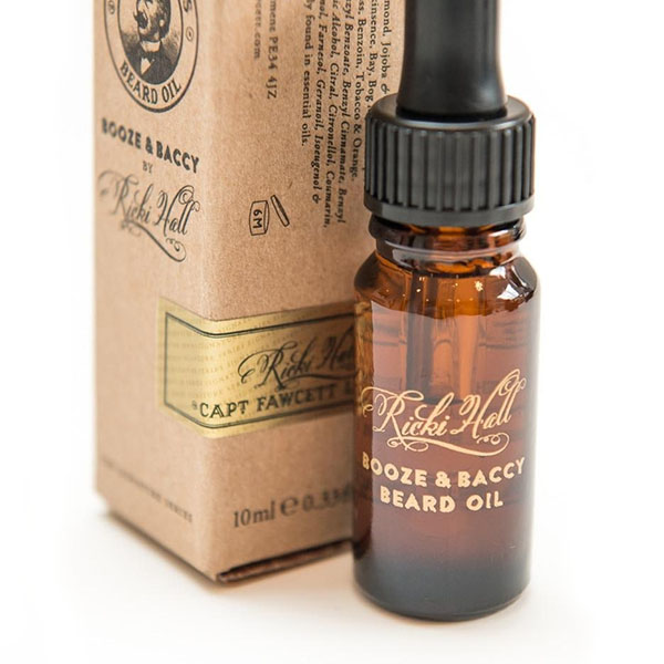 Масло для бороды Captain Fawcett Ricki Hall's Booze & Baccy Beard Oil 10 мл CF317