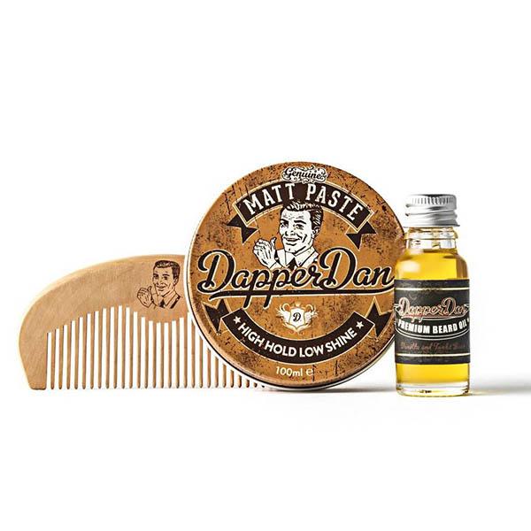 Подарочный набор Dapper Dan Hairy Man Matt Paste DDHMP