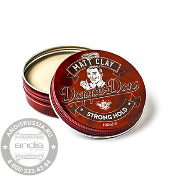 Матовая глина для укладки волос Dapper Dan Matt Clay 100 мл DDMCLAY