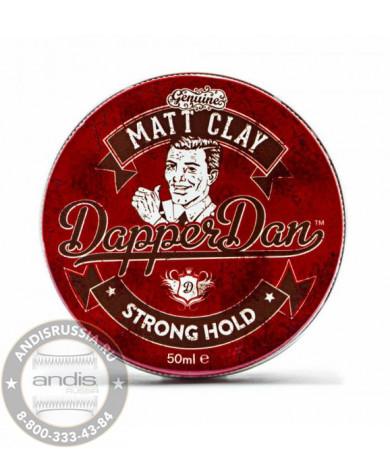 Матовая глина для укладки волос Dapper Dan Matt Clay 50 мл DDMCLAY50