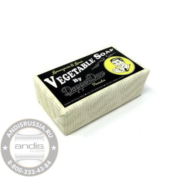 Мыло для тела Dapper Dan Vegatable Soap 190 г DDVS
