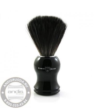 Помазок для бритья черная смола искусственный ворс Edwin Jagger 21P36