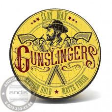 Матовая глина для укладки волос Gunslingers Clay Wax 75 мл GNSCW