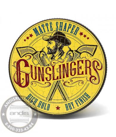 Матовая паста для укладки волос Gunslingers Matte Shaper 75 мл GNSMS