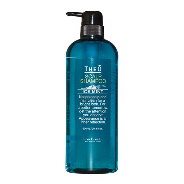 Шампунь для мужчин Lebel Theo Scalp Shampoo Ice Mint 600 мл 1207лп