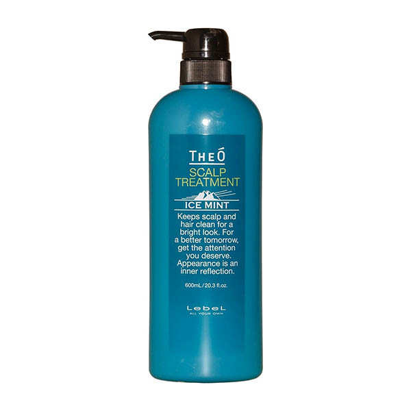 Крем-уход для кожи головы Lebel Theo Scalp Treatment Ice Mint 600 мл 1238лп