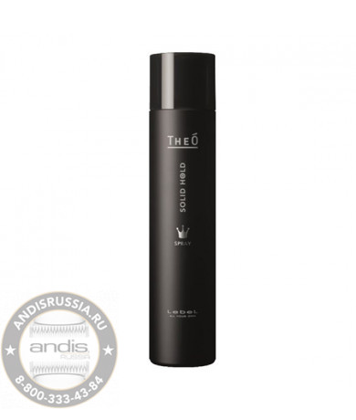 Спрей для укладки волос сильной фиксации Lebel Theo Styling Spray Solid Hold 170 гр 1313лп