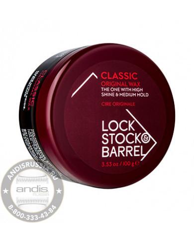 Воск для классических укладок Lock Stock & Barrel Original Classic Wax 100 гр 200006