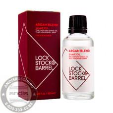 Масло аргановое для бритья и ухода за бородой Lock Stock & Barrel Argan Blend Shave Oil 50 мл 200014