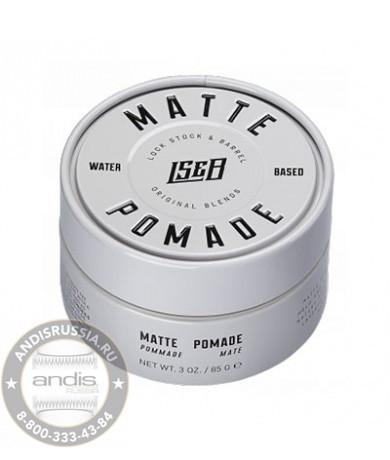 Помада для укладки матовая Lock Stock & Barrel Matte Pomade 85 гр 200032