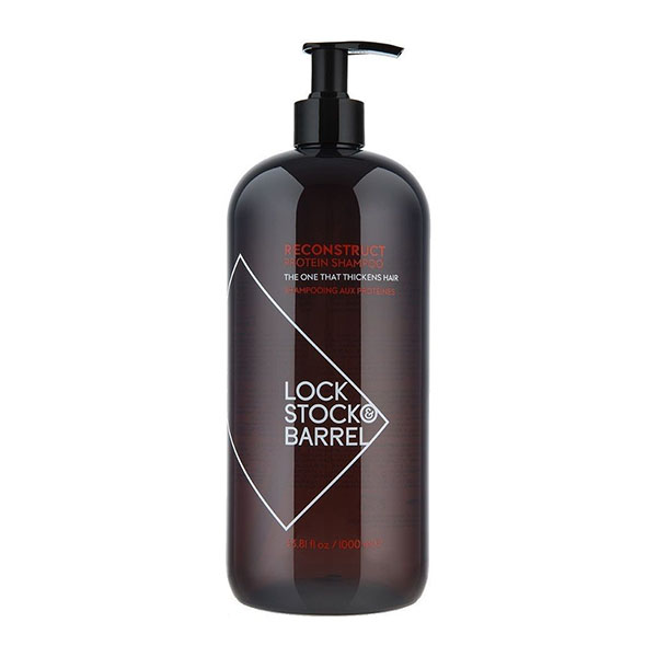 Шампунь укрепляющий для тонких волос Lock Stock & Barrel Reconstruct 1000 мл 200017