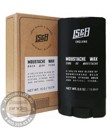 Воск для усов в стике Lock Stock & Barrel Moustache Wax 15 гр 200033