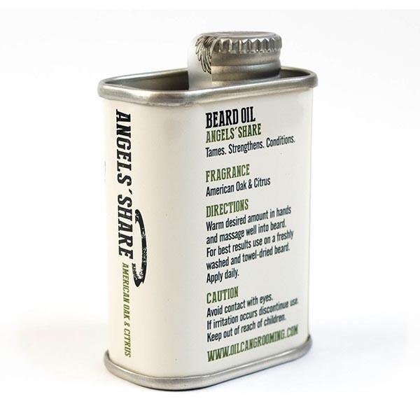 Масло для бороды с ароматом цитруса и дуба Oil Can Grooming Angel's Share Beard Oil 50 мл OCG3