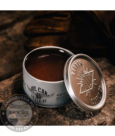 Помада для укладки волос Oil Can Grooming Blue Collar Original Pomade Бергамот и Корень Ириса 100 мл OILCANCLASSIC