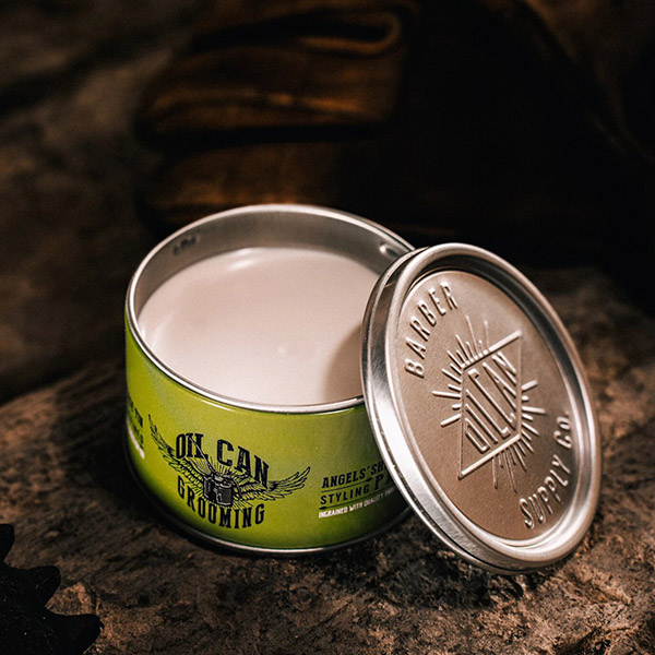 Матовая паста для укладки волос Oil Can Grooming Angels' Share Styling Paste Лайм и Дуб 100 мл OILCANPASTE