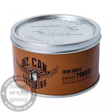 Помада для укладки Oil Can Grooming Iron Horse Grease Pomade Амбра и Ваниль 100 мл OILCANPOMADE