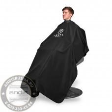 Пеньюар с неопреновым воротником Rebel Barber Noble Black RB030