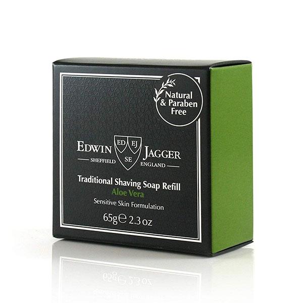 Мыло для бритья Edwin Jagger Shaving Soap Aloe Vera 65 гр SSAV