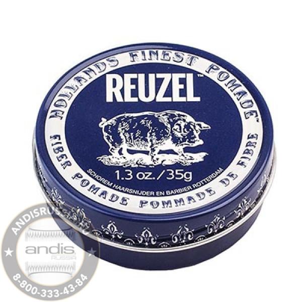 Помада для укладки подвижной фиксации Reuzel Fiber Pomade Piglet 35 гр REU029
