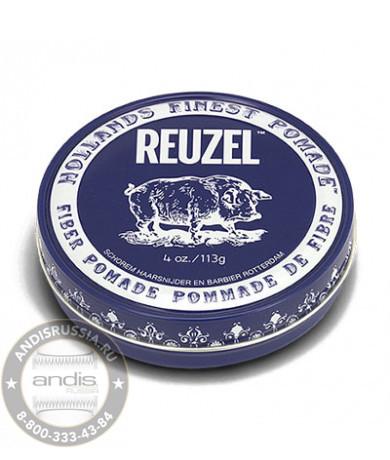 Помада для укладки подвижной фиксации Reuzel Fiber Pomade Pig 113 гр REU030