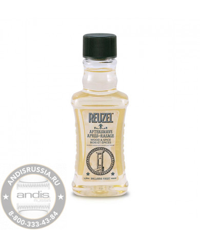 Лосьон после бритья Reuzel Aftershave Wood & Spice 100 мл REU062
