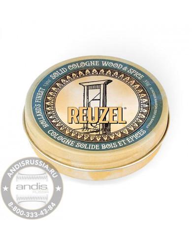 Твердый одеколон Reuzel Wood & Spice Solid Cologne Balm 35 мл REU069