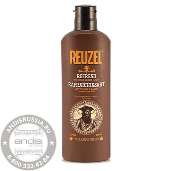Кондиционер для бороды несмываемый Reuzel Refresh Wash 200 мл REU086