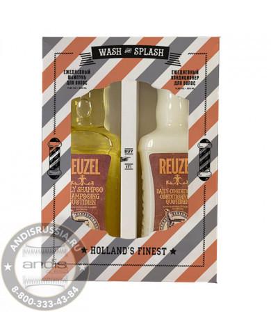 Набор Шампунь + Кондициоционер Reuzel Wash & Splash 350x2 мл REUPR2